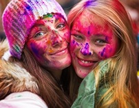 Festival of colours - NYC