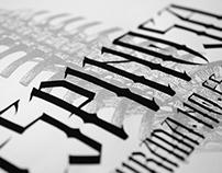 Espinosa Typeface