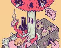 Revista JUST BY / Arte de Tapa.
