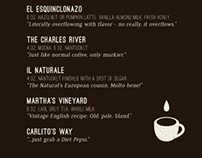 The Coffees of Soccer House