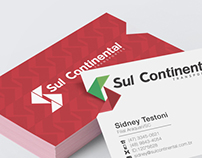 Business card - Sul Continental Transportes