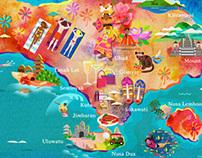 Garuda Indonesia Maps