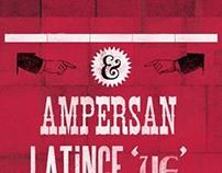 Letterpress / Ampersan