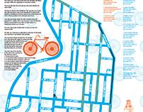 UTexasLiving.com / University Co-op W. Campus Bike Map