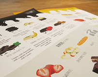 Menu Design and Branding - Serendipity Fondue
