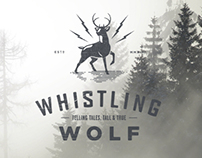 Whistling Wolf - Identity & Website