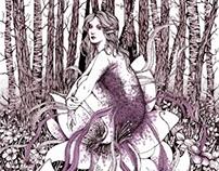 Purple Fairy (Book Illustration)
