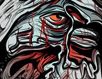 Cartel y Animacion para Waking In Hell