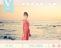Vee Collection Website Design