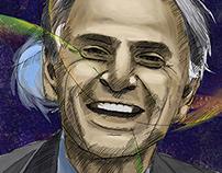 Portrait of Carl Sagan