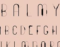 Balmy Typeface