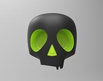 Packaging for Skull-Candy earphones