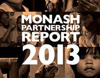 WORLD VISION AUSTRALIA - MONASH PARTNERSHIP REPORT 2013