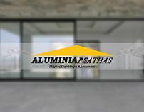 Aluminiapsathas: Website design
