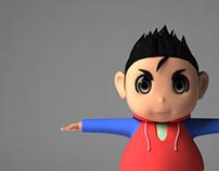 [3D Model]Boy