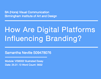 How are digital platforms influencing branding?