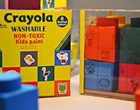Packaging Design: Crayola Kids' Paint