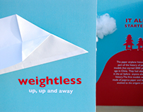 Weightless: up up and away!