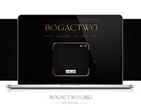 Bogactwo - website & blog design