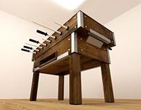 3D   The Foosball Table