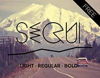 Sequi - FREE Typeface