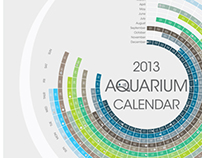2013 Aquarium Calendar