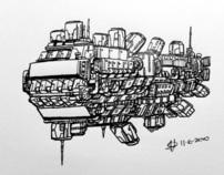 Spaceship Sketches