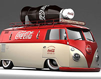 Coca - Cola: Flash Website design