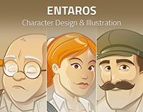 ENTAROS Ltd. Character design & Illustration