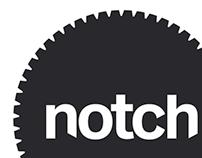 Notch - Nottingham Trent Uni Degree Show Branding