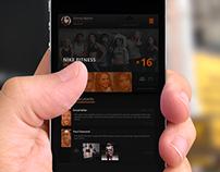 Platform UI - Mobile App Design