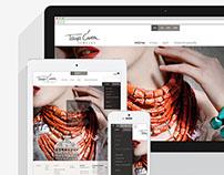 Tanja Curin Jewelry website
