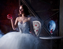 """Dreams In White"" - ""Didier"" wedding dresses"