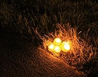 Tealight display