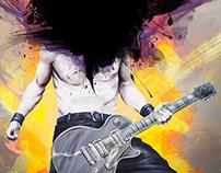 KJA artists Federico - Rock Guitarist