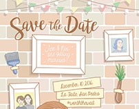 Save the Date: Jan and Nix