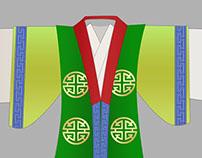 Fu Lu Shou dresses