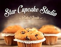 Brand Design of STAR CUPCAKE STUDIO