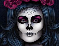 Advanced Vector Portraits Spooky Edition - Video Course