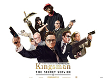 Movie 'Kingsman:The Secret Service' Illustration