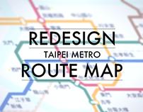 Taipei Metro Route Map reDesign