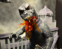 1954 Godzilla Set Design