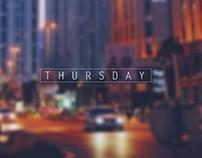 Thursday In Dubai Media City