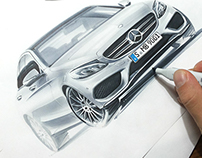 some car sketches