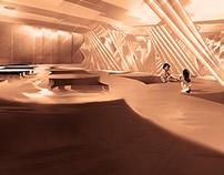 Contemporary urban bath house