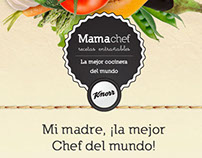 Knorr Mama Chef Facebook App