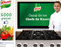 Knorr Canal de Chefs Facebook App