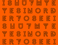 TYPEFACE - I SHUT MY EYES IN ORDER TO SEE