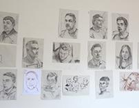 Portraits in 10 min