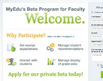 Faculty Beta Program
